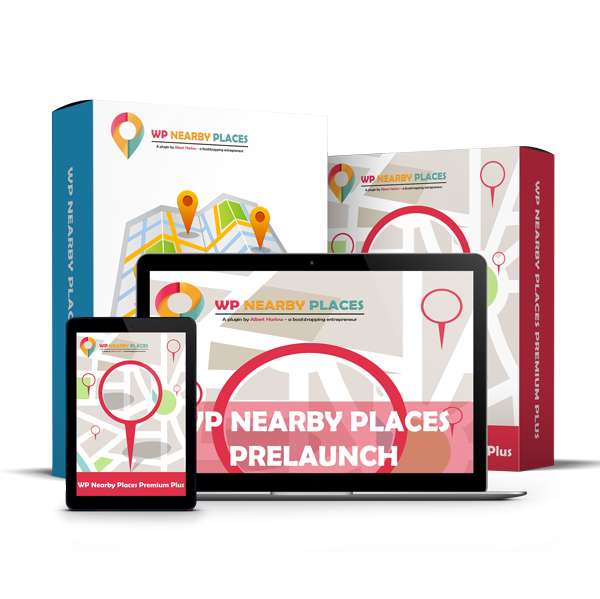 WP Nearby Place Prelaunch Package