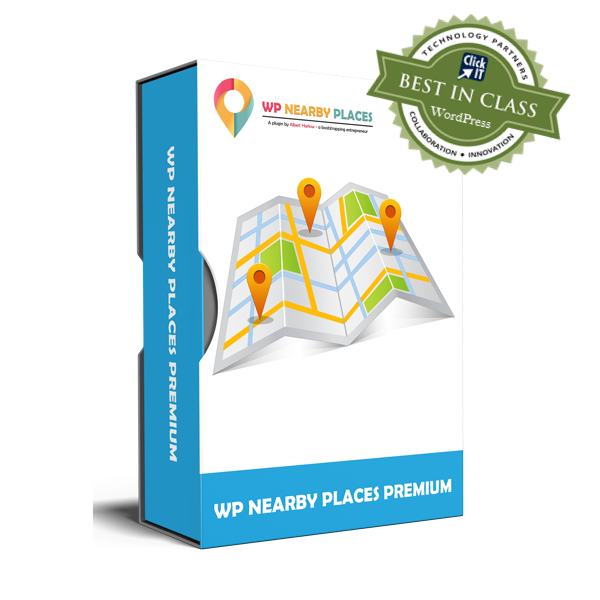 Award Winning WP Nearby Places Premium