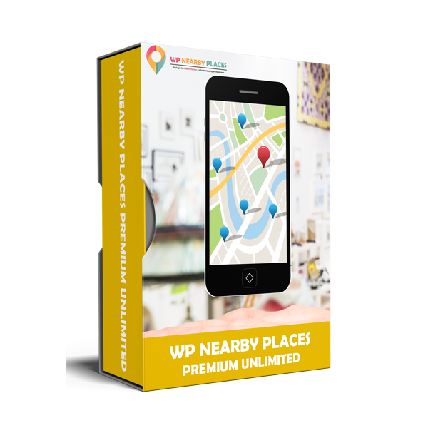 WP Nearby Places Premium Unlimited